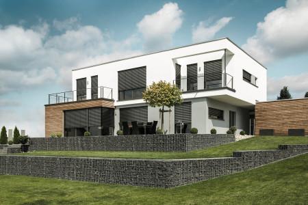 Einfamilienhaus-mit-Raffstoren-Architekt-Designhaus-Roma-HG-Raumdesign
