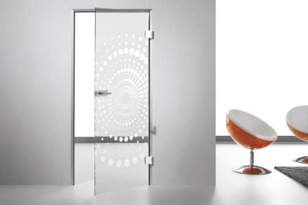 Innentueren-Ganzglastuere-Glasdekor-Milchglas-Hg-Raumdesign