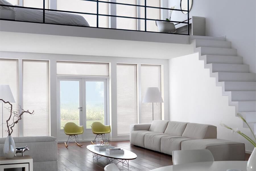 Plissee Wohnzimmer | Plissee Hg Raumdesign Gmbh